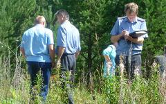 Полиция на месте преступления. Фото с сайта 66.mvd.ru