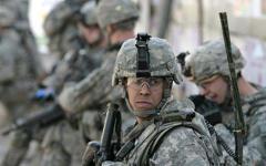 Американский военный. Фото с сайта trend.az