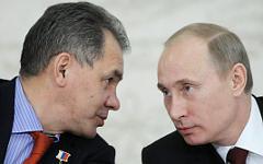 Сергей Шойгу и Владимир Путин © РИА Новости, Алексей Никольский