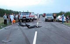 Место аварии. Фото с сайта 64.mvd.ru