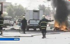 Взрывы в Ираке. Кадр из видео CTV.BY