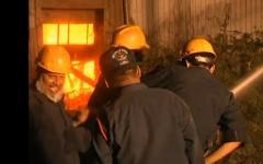 Место пожара в Пакистане. Кадр из видео rtrussian