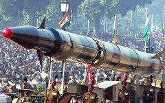 Одна из ракет класса «Агни». Фото ABr с сайта wikipedia.org