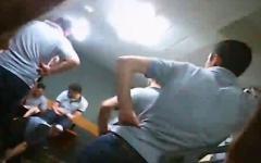 Избиение в Глданской тюрьме. Кадр из видео на YouTube
