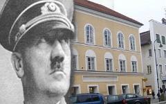 Дом Гитлера в Австрии. Коллаж © KM.RU