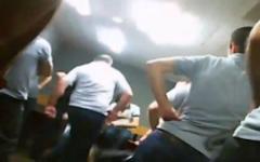 Пытки в грузинских тюрьмах. Кадр из видео на YouTube