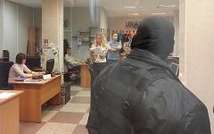 Обыски в редакции «Ура.ру». Фото пользователя twitter  @Medved01rus