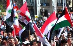 Сирийские флаги. Фото с сайта sana.sy