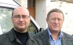 Виктор Соболев и Владимир Таскаев. Фото с сайта serovglobus.ru