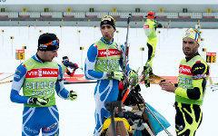 Российские биатлонисты. Фото с сайта biathlonworld.com