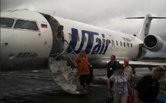 Самолет компании UTair © KM.RU, Елена Колебакина