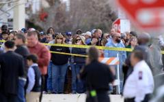 Место трагедии. Фото с сайта latimes.com