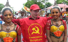 Лидер «Коммунистов Петербурга» Сергей Малинкович