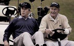 Старший и младший Буши. Фото с сайта funnypicture.zoda.ru