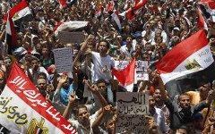 Демонстрация в Египте. Фото с сайта naharnet.com