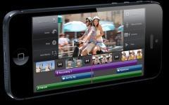 iPhone 5. Фото с сайта apple.com