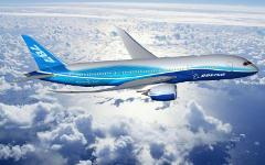 Boeing 787 Dreamliner. Фото с сайта wallpapersdesign.net