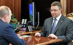 Владимир Владимиров (справа). Фото с сайта kremlin.ru