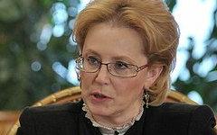 Вероника Скворцова. Фото с сайта kremlin.ru