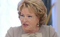Валентина Матвиенко. Фото с сайта kremlin.ru
