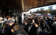 Штурм ТЦ «Бирюза» в Бирюлево © KM.RU, Филипп Киреев