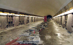 Капитальный ремонт станции «Петроградская». Фото с сайта metro.spb.ru