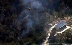 Тушение пожаров в Австралии. Стоп-кадр с видео в YouTube