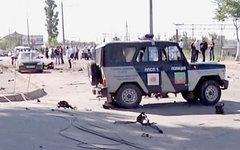 Кадр оперативной съемки УМВД Дагестана