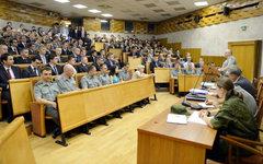 Учебные сборы на военной кафедре в МГИМО. Фото с сайта mgimo.ru