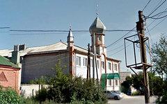 Мечеть на улице Поворинской, 22. Изображение сервиса Google Street View