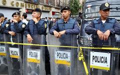 Мексиканская полиция. Фото Spot Us с сайта flickr.com