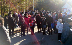Акция протеста в Волгограде. Фото пользователя Instagram vatrobo