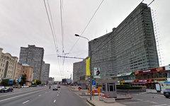 Новый Арбат. Изображение сервиса Google Street View
