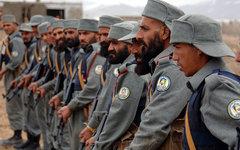 Афганские полицейские. Фото Michael Bracken с сайта defenseimagery.mil