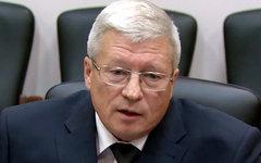 Александр Лопатин. Стоп-кадр с видео Роскосмоса в YouTube