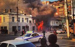 Место происшествия. Фото пользователя Instagram 05_qwert