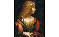 Портрет Изабеллы д'Эсте работы Леонардо да Винчи