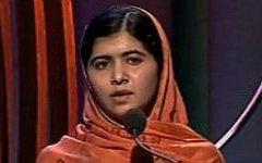 Малала Юсуфзай. Стоп-кадр с видео на YouTube