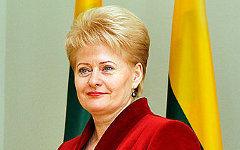 Даля Грибаускайте. Фото с сайта wikimedia.org