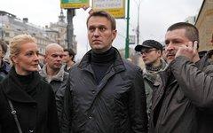 Алексей Навальный с женой Юлией © KM.RU, Алексей Белкин