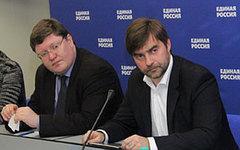 Андрей Исаев и Сергей Железняк. Фото с сайта er.ru