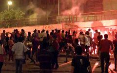 Беспорядки в Египте. Кадр телеканала Russia Today