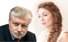 Сергей Миронов и Ольга Радиевская. Коллаж © KM.RU
