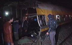 Железнодорожная авария в Египте. Стоп-кадр с видео в YouTube