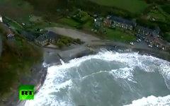 Наводнение в Сардинии. Кадр телеканала Russia Today
