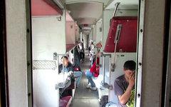 Плацкартный вагон. Стоп-кадр с видео в YouTube