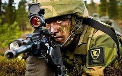 Норвежский солдат. Фото с сайта wikipedia.org