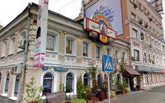 Ресторан «Тарас Бульба» в Москве. Изображение сервиса Google Street View