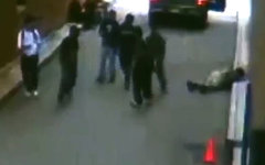 Пострадавший в ходе инцидента. Стоп-кадр с видео в YouTube