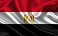 Флаг Египта. Фото с сайта goodfon.ru